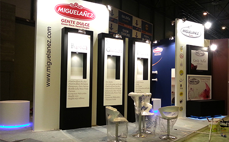 diseño stand vipro